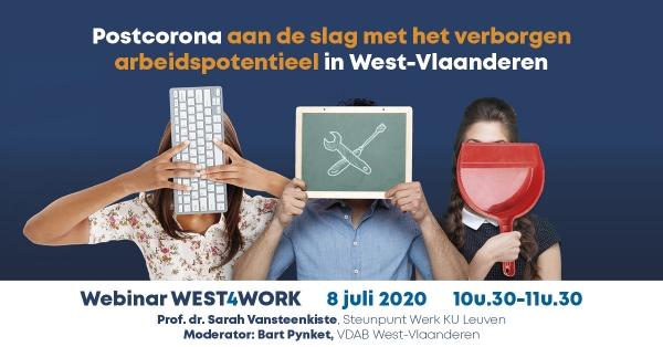 Postcorona aan de slag met het verborgen arbeidspotentieel in West-Vlaanderen