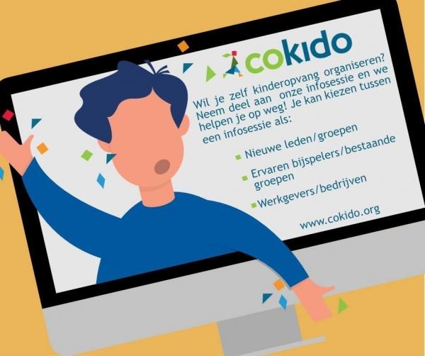 Cokido helpt bedrijven en organisaties om kinderopvang te organiseren op de werkvloer
