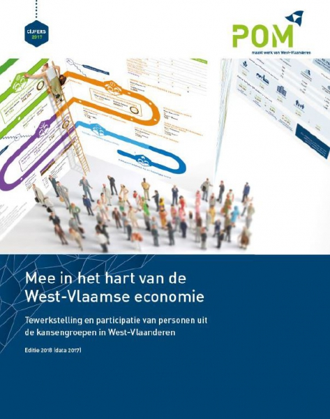 West-Vlaanderen biedt kansen: 56.721 tewerkstellings- en participatieplaatsen voor kansengroepen in 2017.
